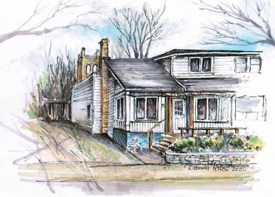 house sketching multimedia   Dundas Ontario