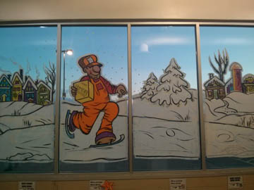 hommer - Home Depot - window-painting
